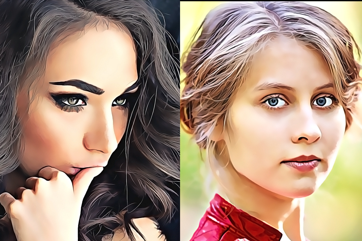 Pro Cartoon Oil Painting effect v.3 example image 5