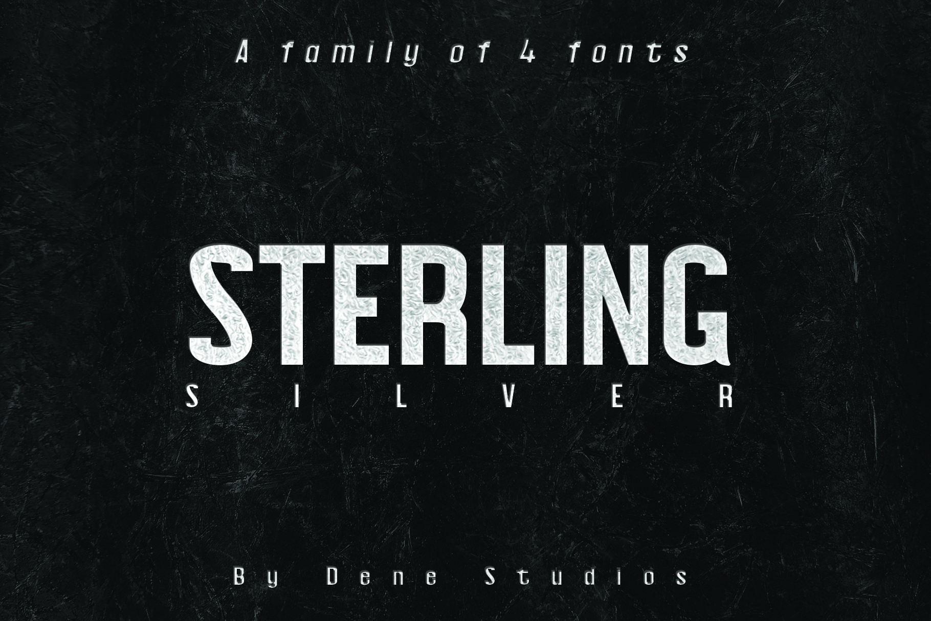 STERLING, A Powerful Sans Serif example image 1