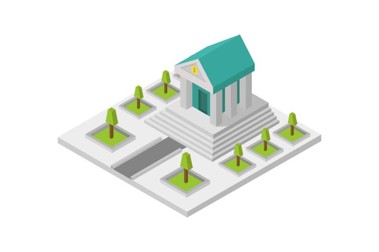 Isometric bank example image 1