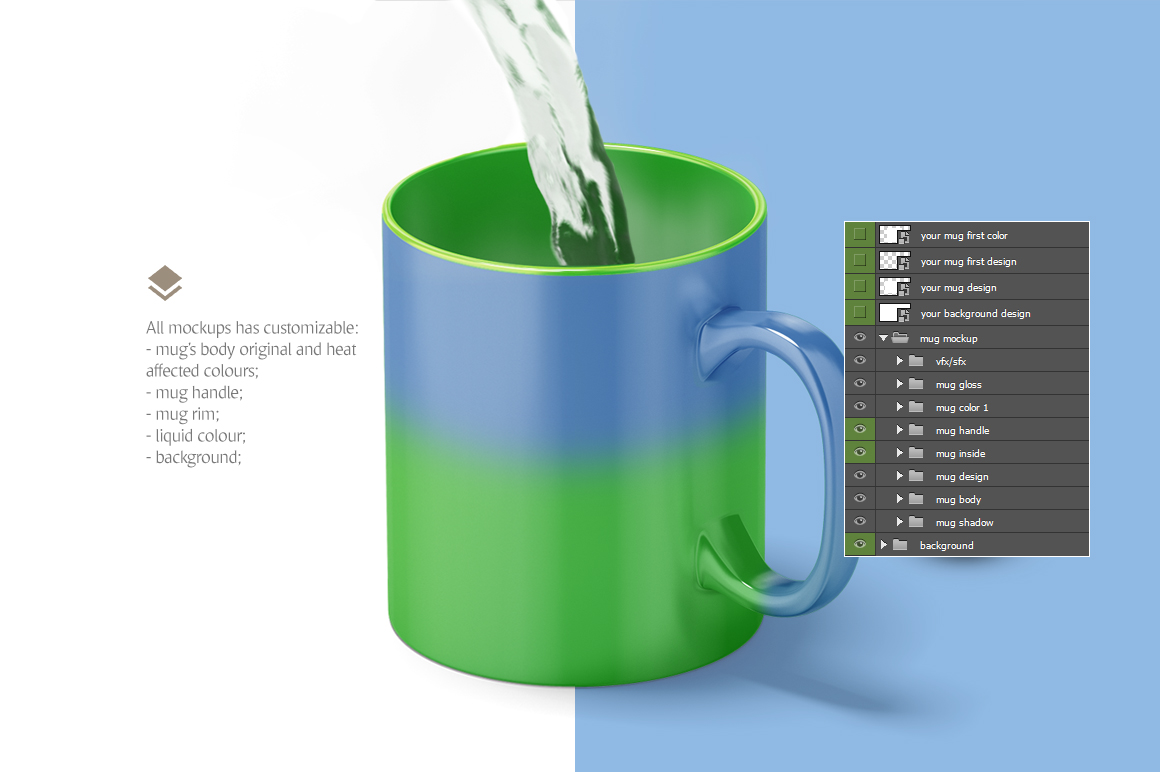 Magic Mug Animated Mock up example image 5