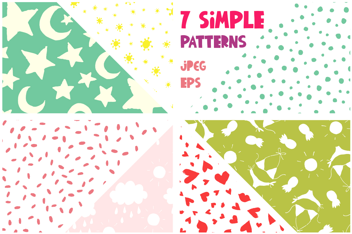 Summer Party - Clipart & Patterns example image 4