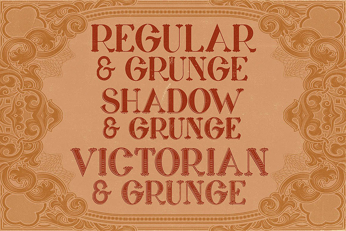 Marin - Victorian Font example image 3