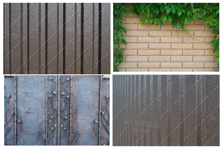 Bricks, fence and greenery example image 7
