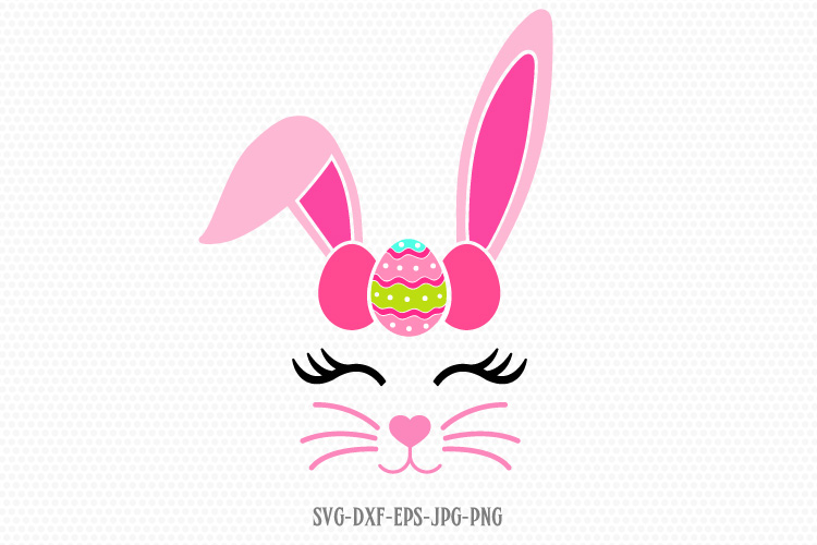easter boy bunny svg example image 1