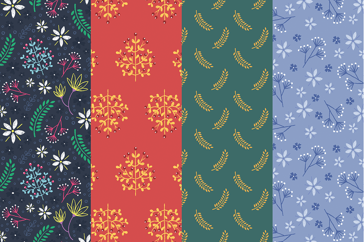 Floral Pattern Collection example image 5