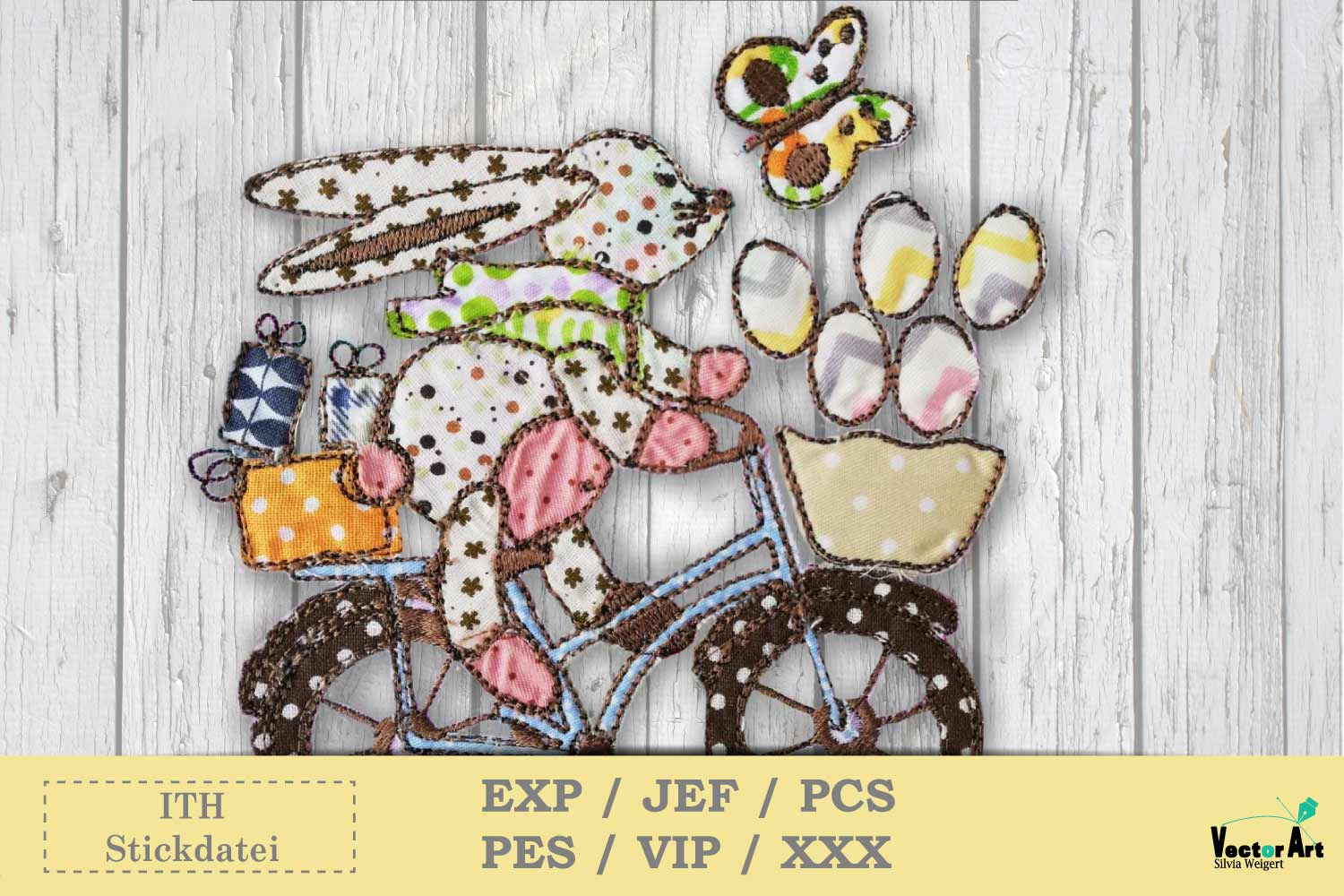 ITH Easter Bundle - Machine Embroidery Files - 10 Projects example image 10