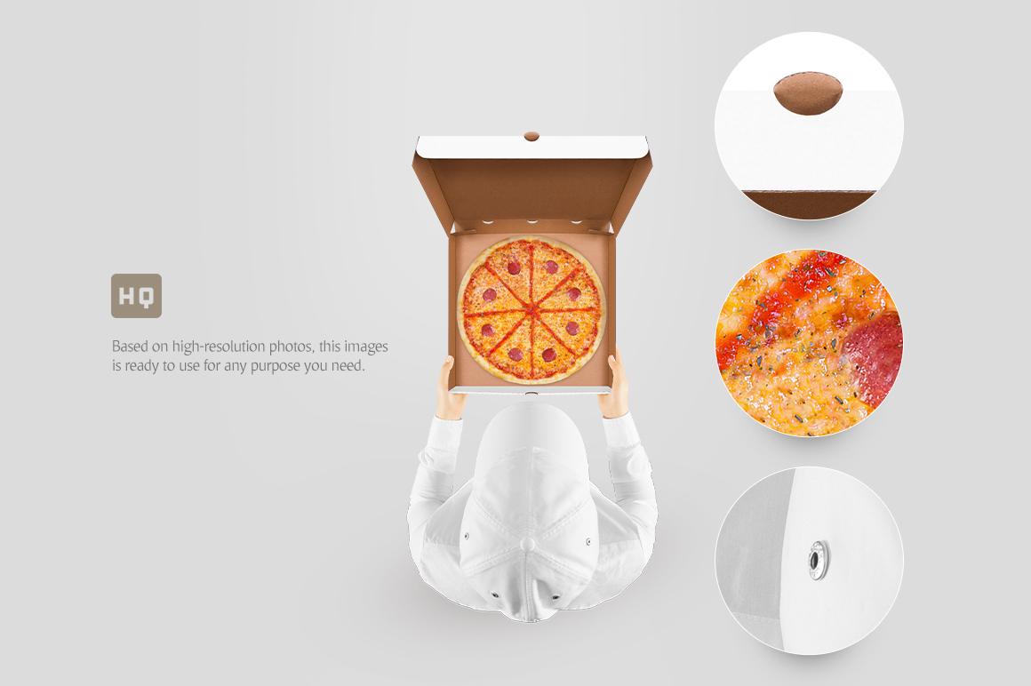 pizza box mockup example image 3