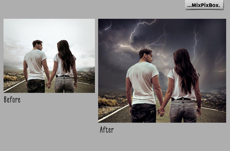 Lightning Photo Overlays example image 3