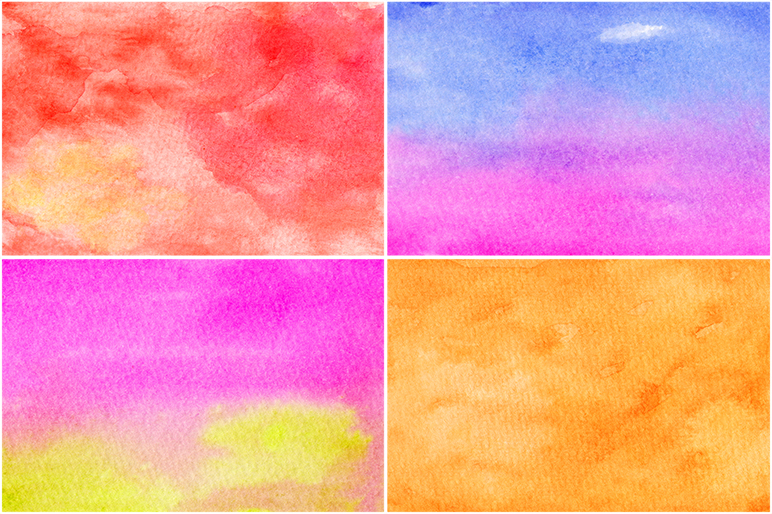 50 Watercolor Backgrounds 05 example image 6