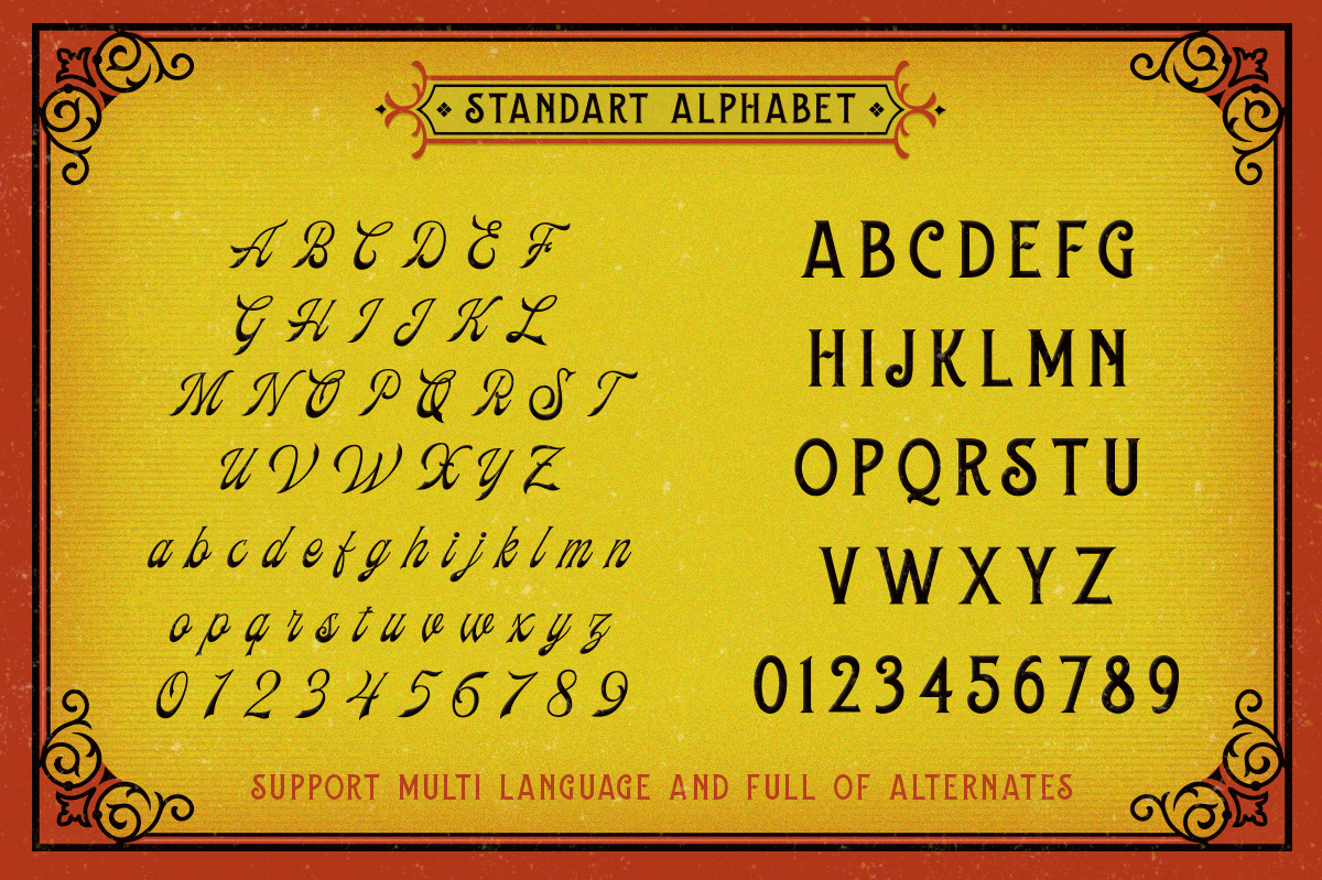 Frankest - The Vintage Font Duo example image 5
