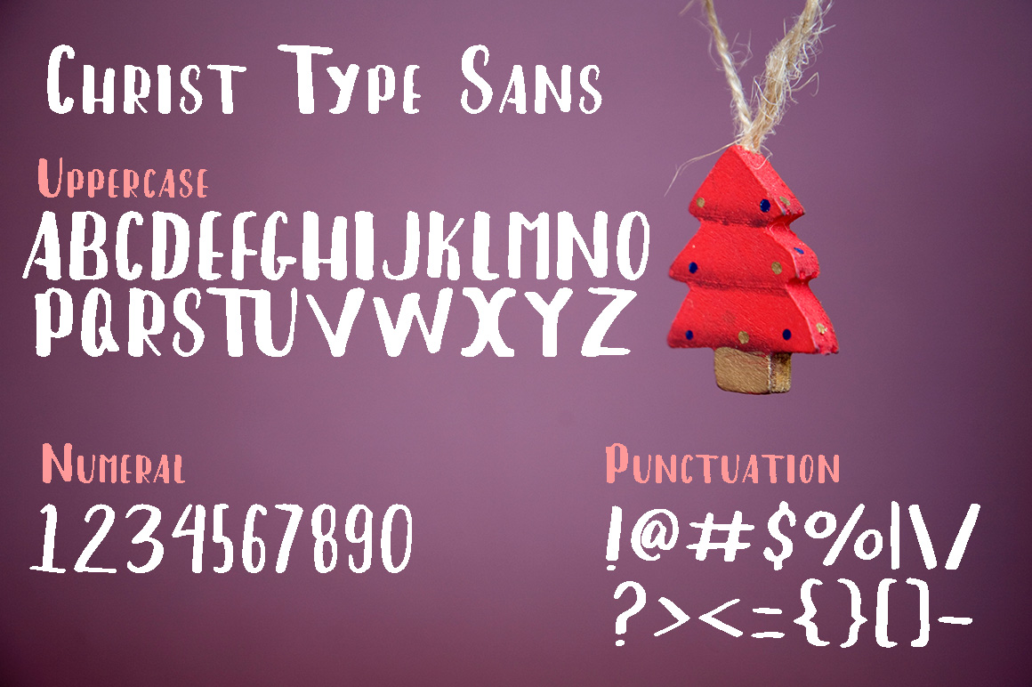 Christ Type Font Duo example image 4