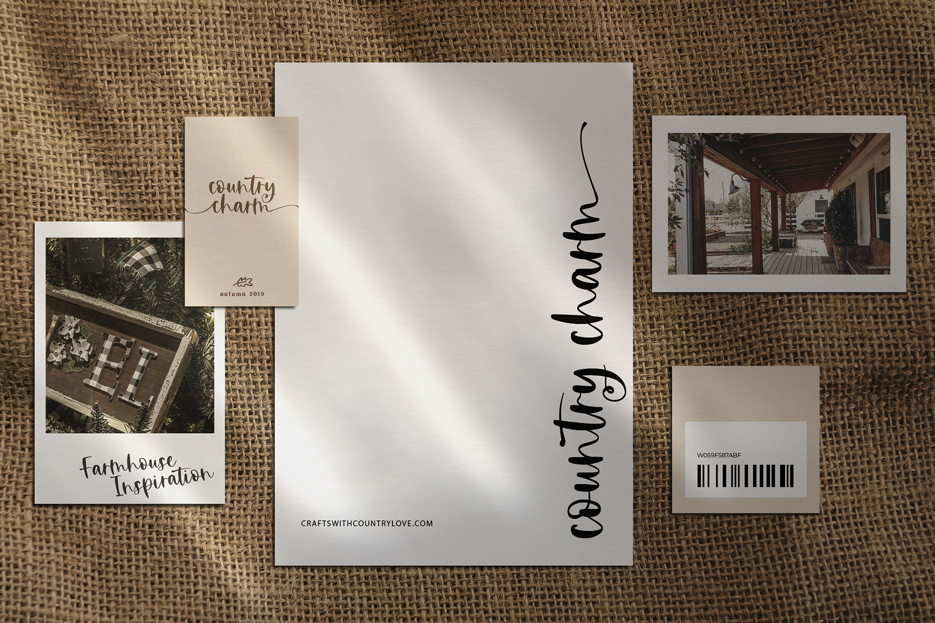 Countryside Farmhouse - A Font Duo with Doodles example image 14