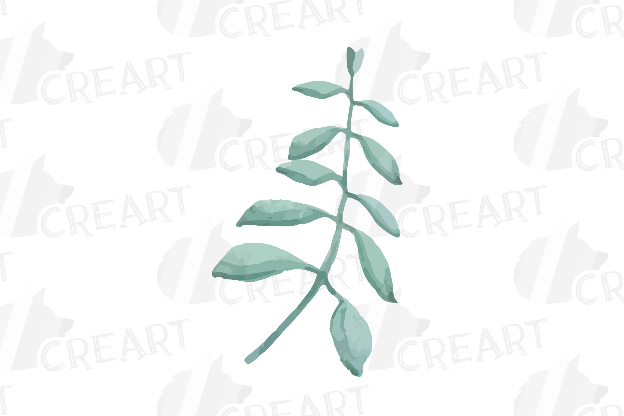Cotton bolls and fir branch leafy autumn and winter decor example image 11