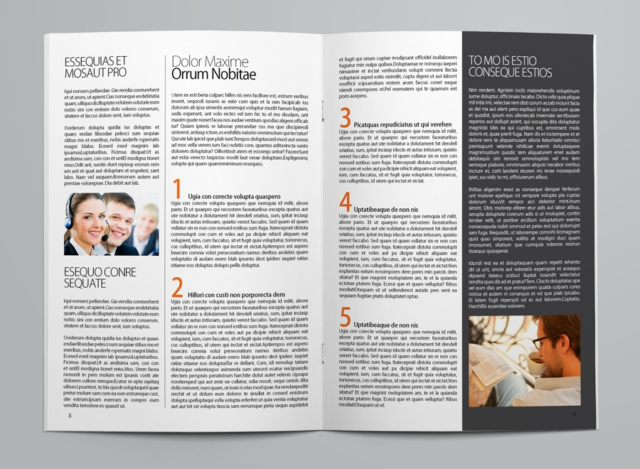 Business Newsletter Template example image 3