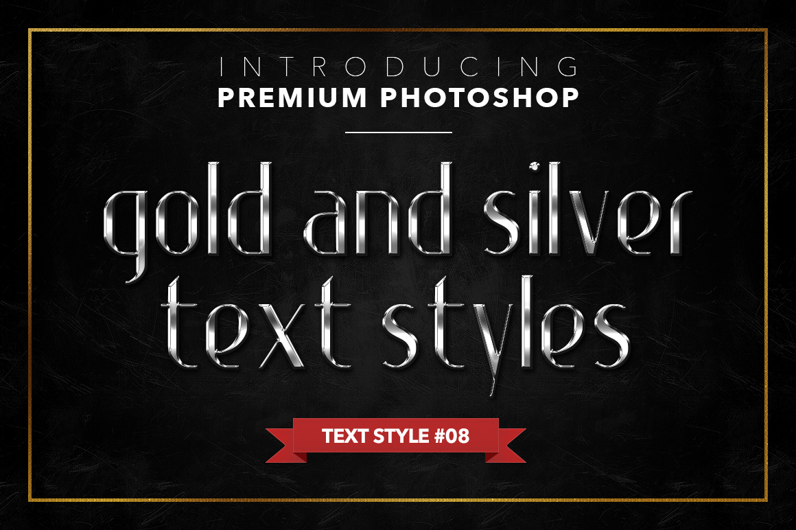 Gold & Silver #1 - 20 Text Styles example image 16