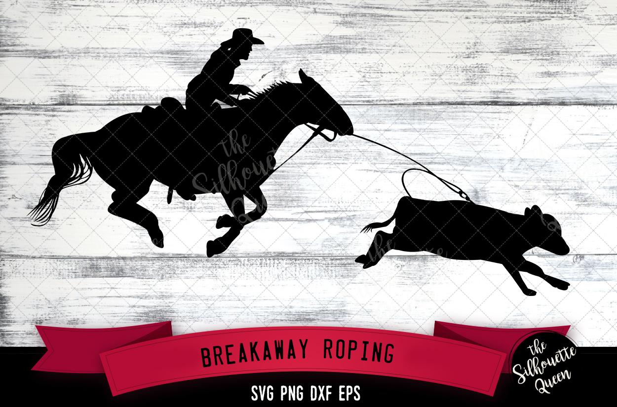 Breakaway Roping svg file example image 1