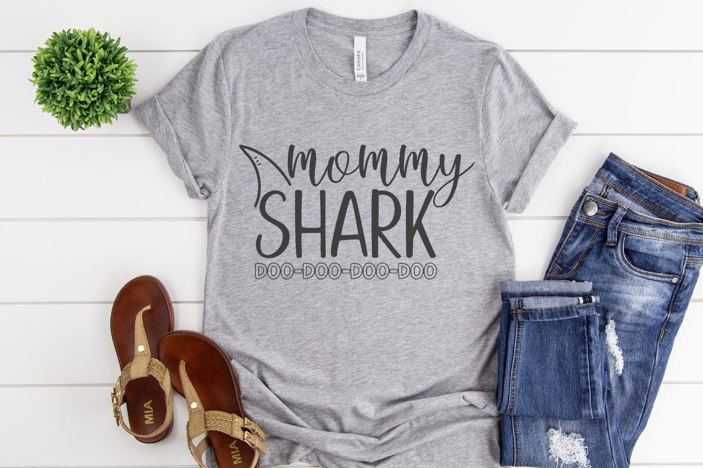 Shark Family - Shark Bundle SVG example image 2