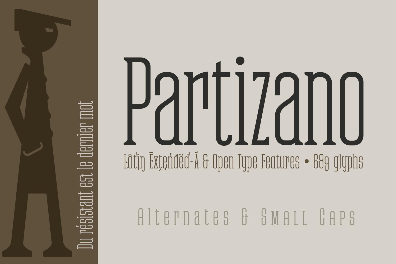 Partizano Serif example image 5