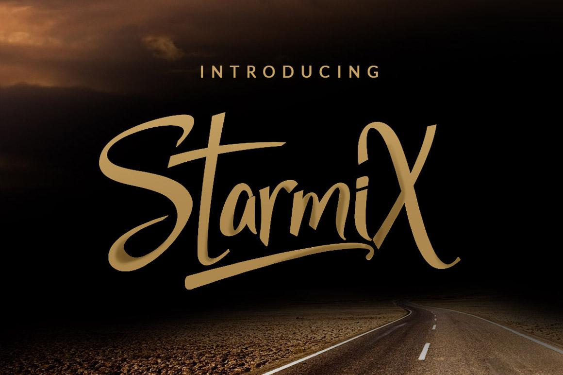 StarmiX Typeface example image 1