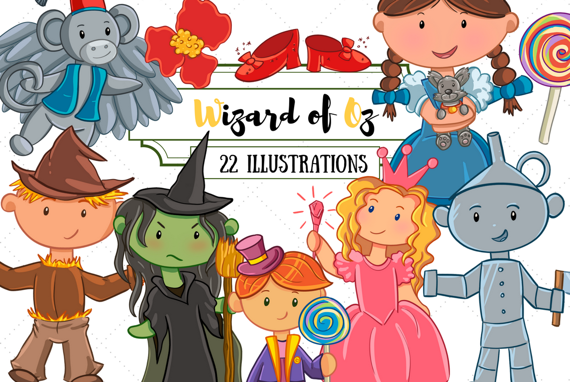 Year One Clip Art Bundle - Everything From Our First Year! example image 21