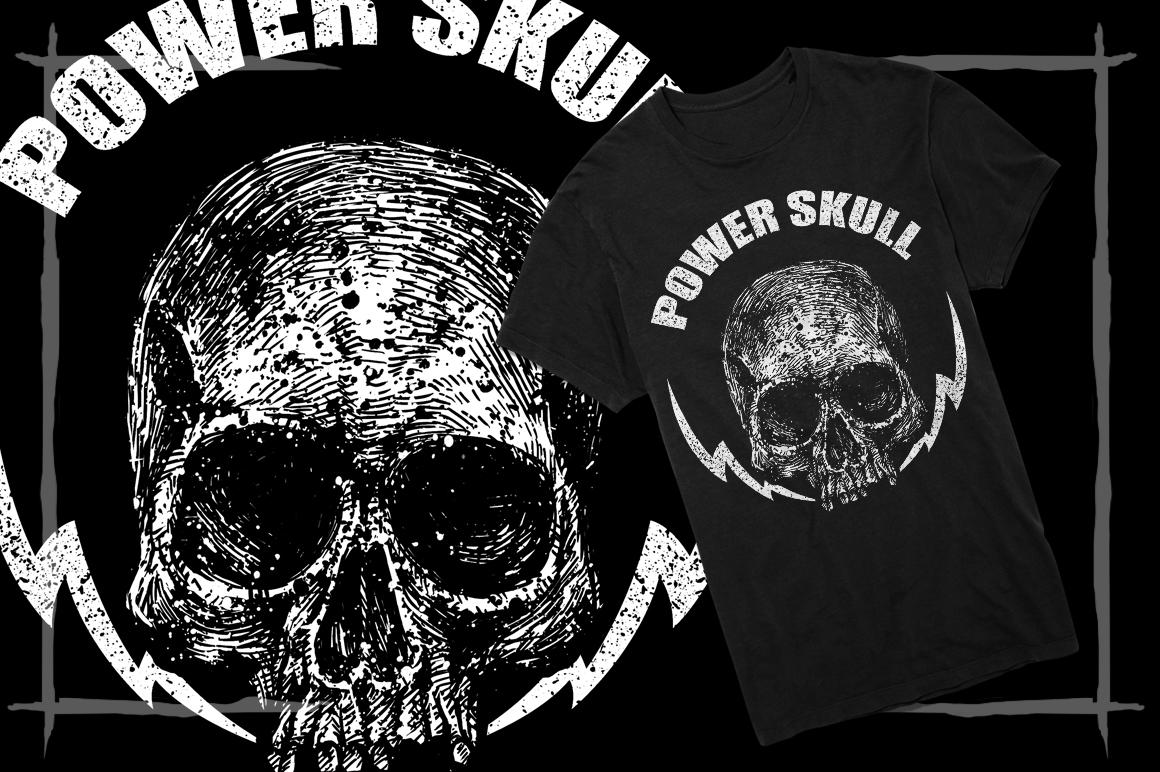 T-Shirt Designs Skull example image 14