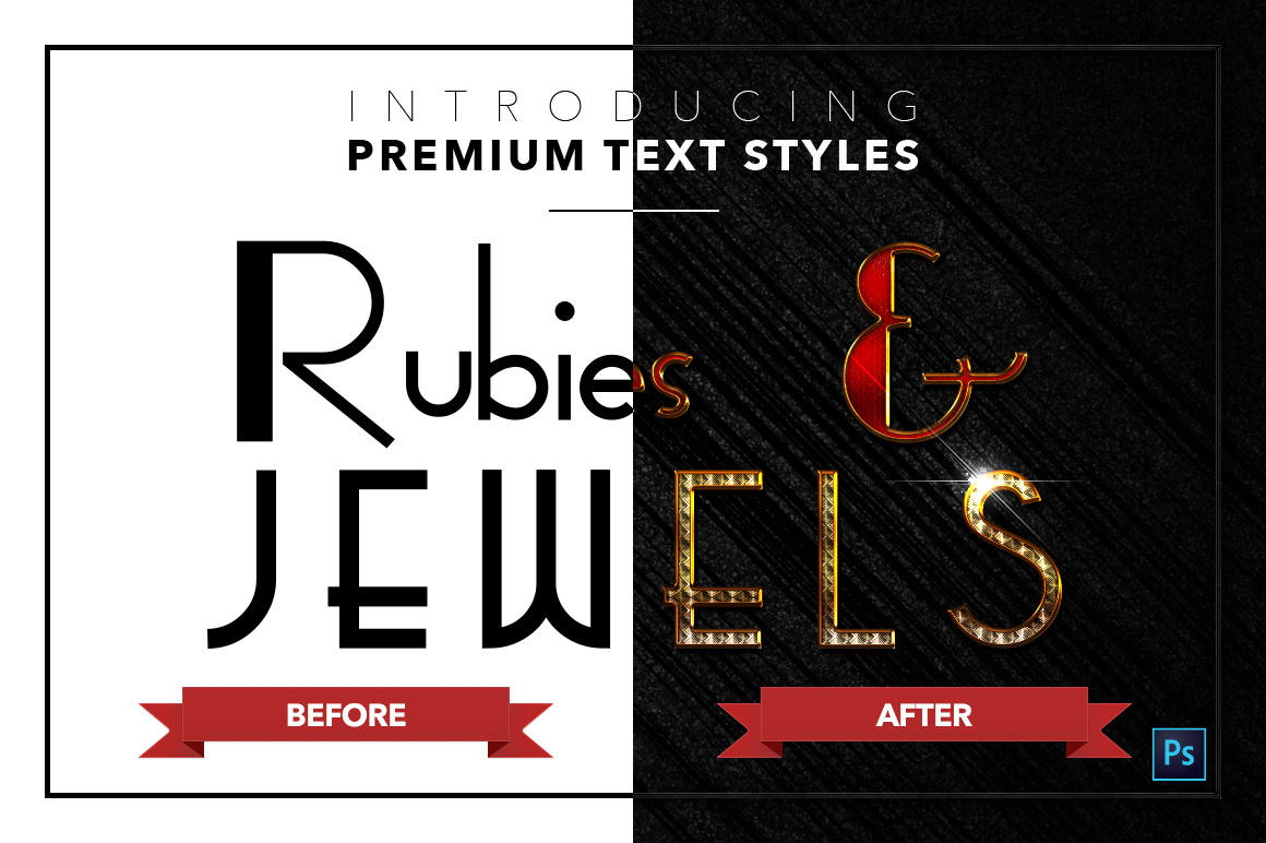 Rubies & Jewels #1 - 20 Text Styles example image 22