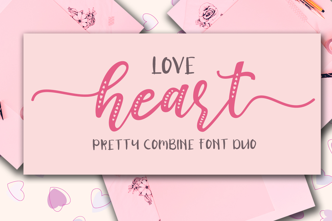 Love Heart / Beauty Combo example image 1