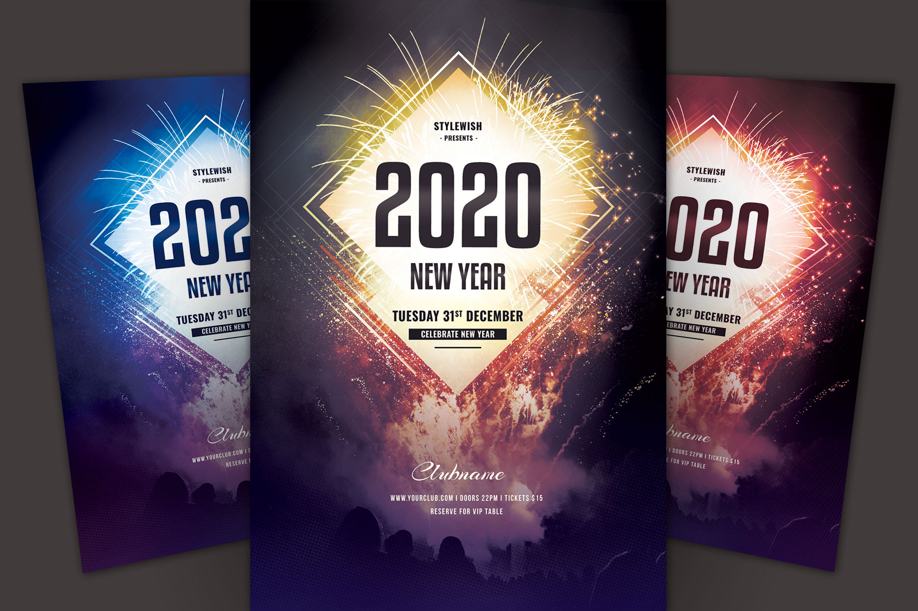 New Year Flyer example image 1