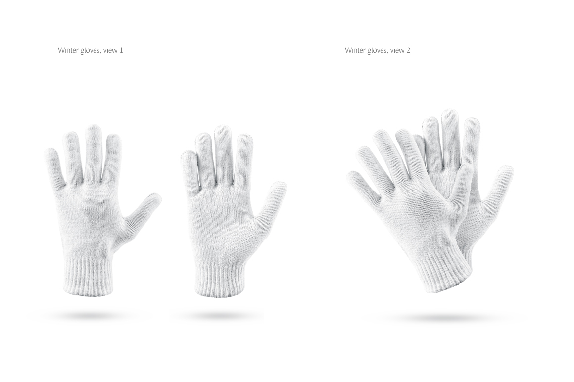 Winter Gloves Mockup example image 4