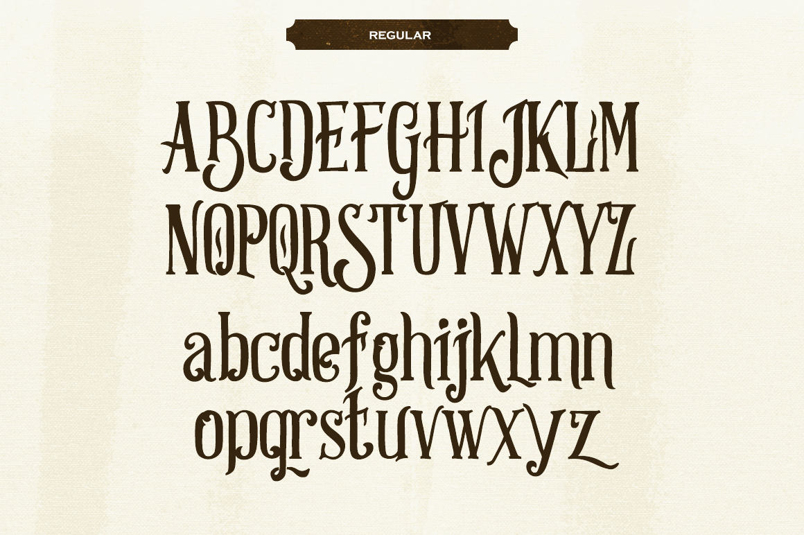 Strongwill Typeface example image 2