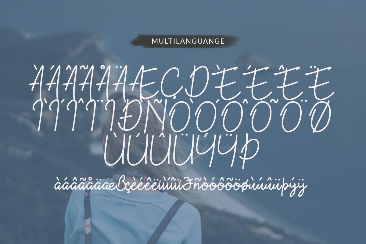 Kekasih - Shophisticated Signature Font example image 8