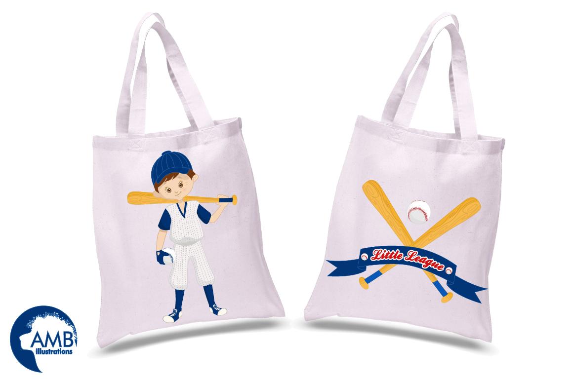 Baseball team, baseball players, graphics, illustrations AMB-1227 example image 2