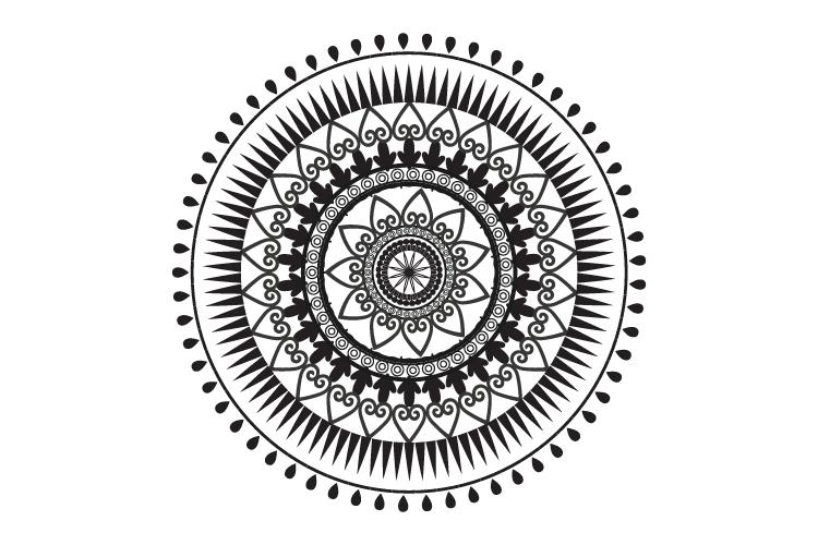 Mandalas. Round forms. example image 2