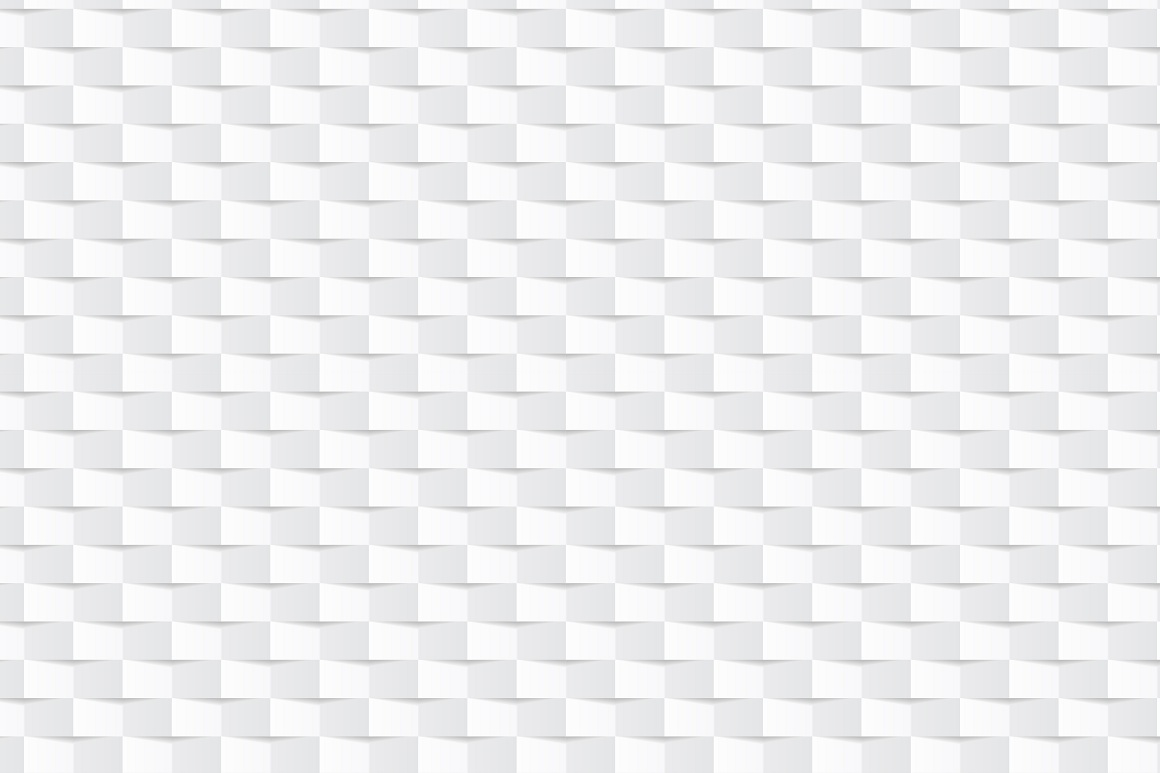 Decorative white seamless textures example image 6