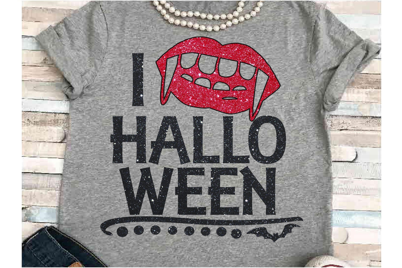 Bat SVG DXF JPEG Silhouette Cricut love Halloween lips glitt example image 1