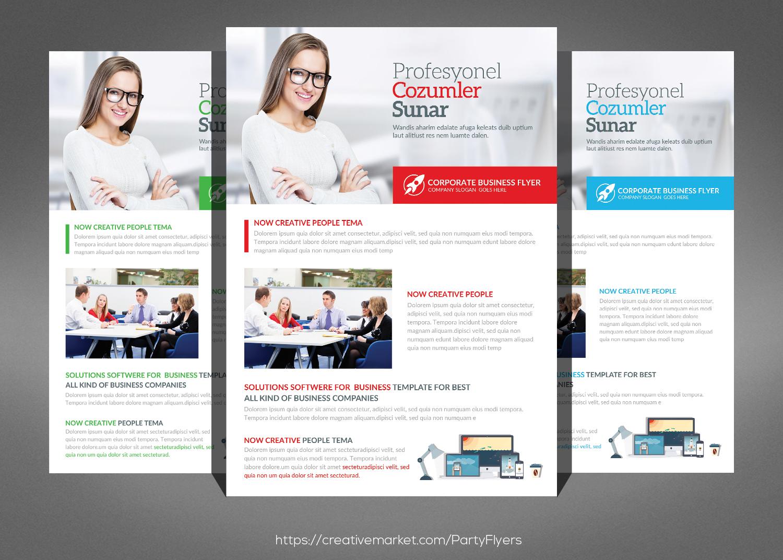 Creative Business Flyer Bundle example image 3
