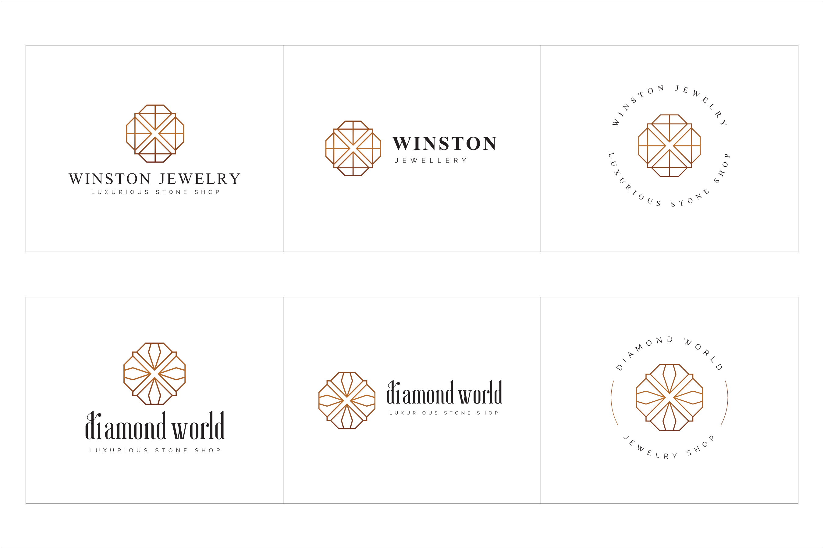 300 Geometric Premade Logo Bundle example image 18