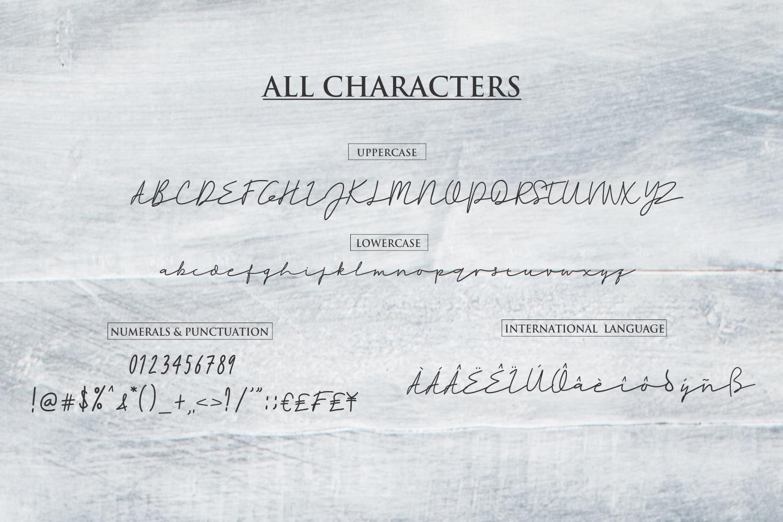 Rahayu -  A stylish signature font example image 10