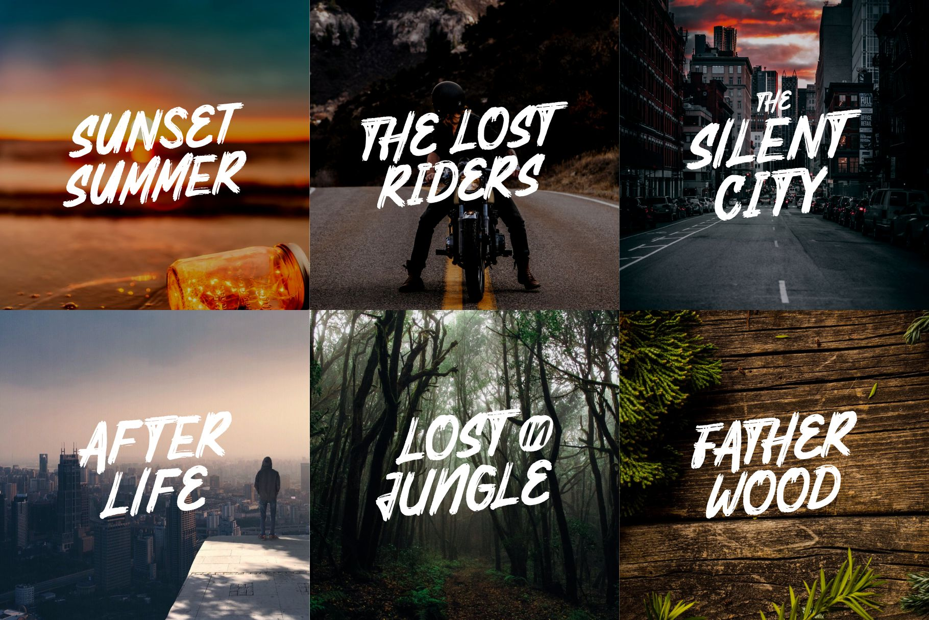 Mighty Brush Font example image 4