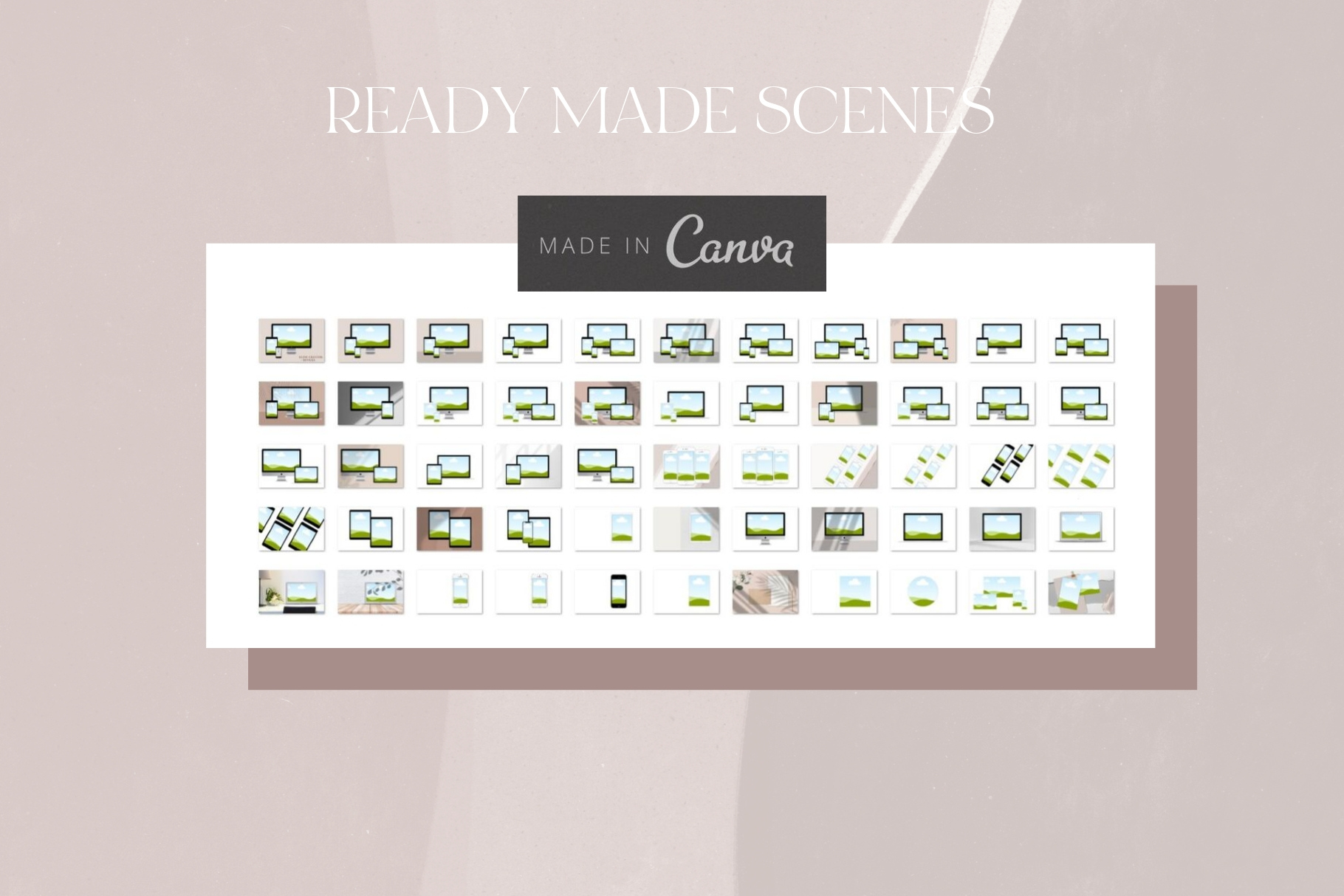 Canva Devices Mockup Scene Creator example image 7