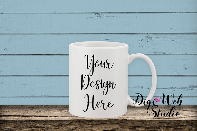 Mockup Bundle - Butterfly Cottage Wood Signs, Pillow & Mug example image 3