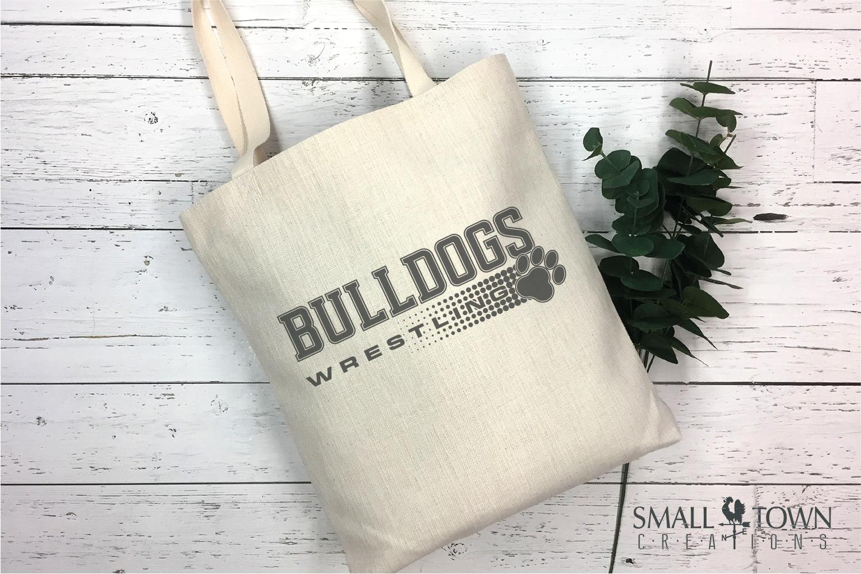 Bulldog, Wrestling, Team, Sports, Logo, PRINT, CUT & DESIGN example image 4