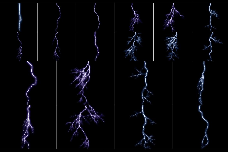 100 Lightning Overlays Vol. 2 example image 4