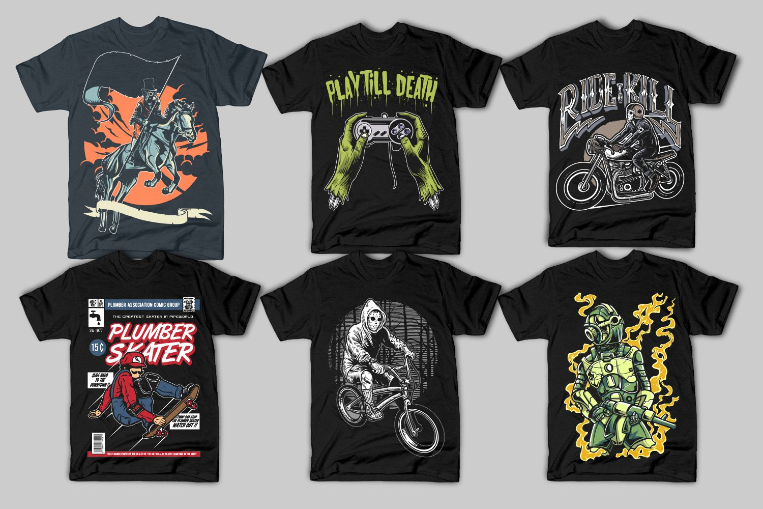 82 Tshirt Designs Bundle example image 15