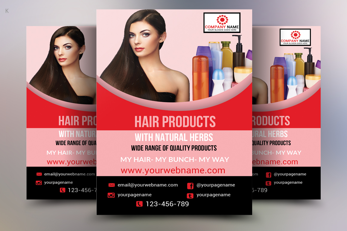 Hair Products Flyer example image 1