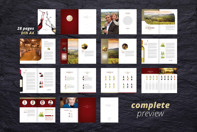 FINE WINE - Sales & Image Brochure example image 5
