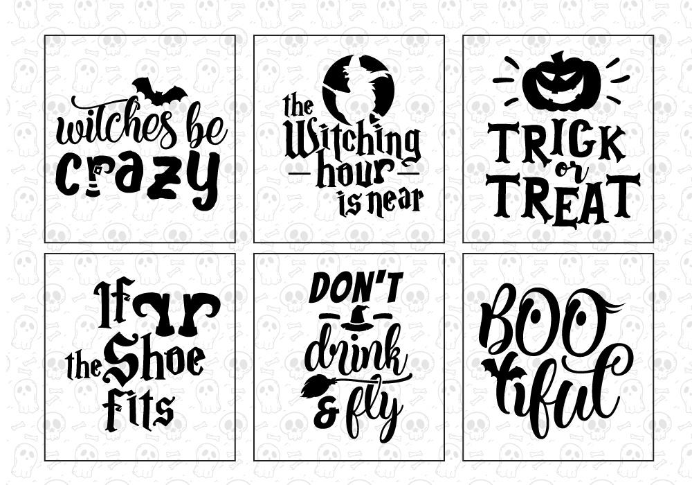Halloween SVG Cut File Bundle example image 2