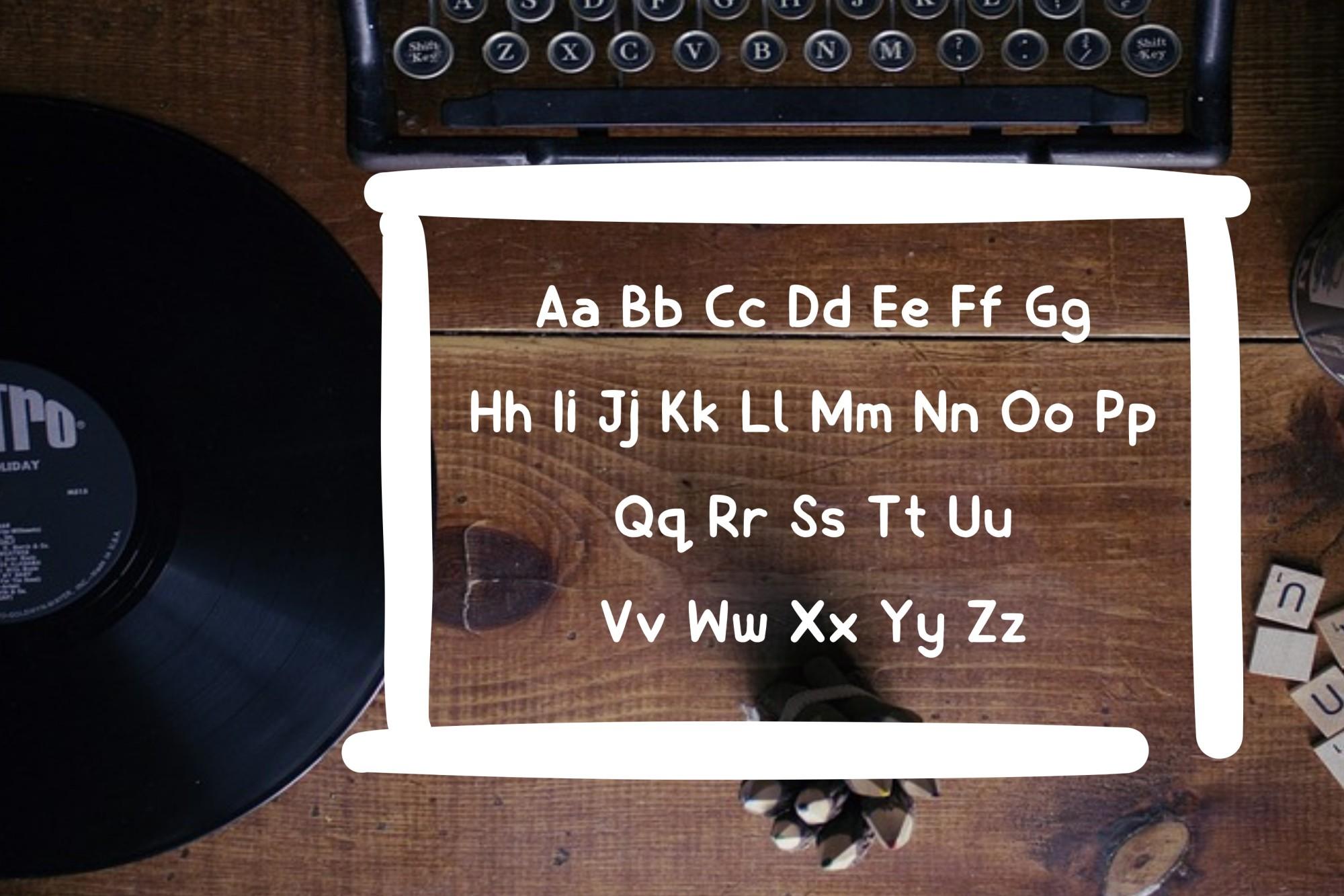 Billiony Typeface Font example image 5
