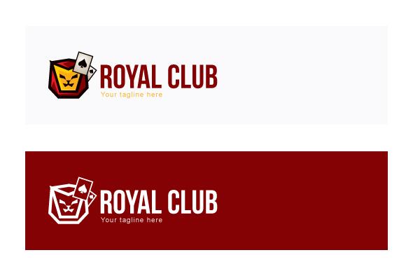 Royal Club - Abstract Lion Face Stock Logo Design example image 2