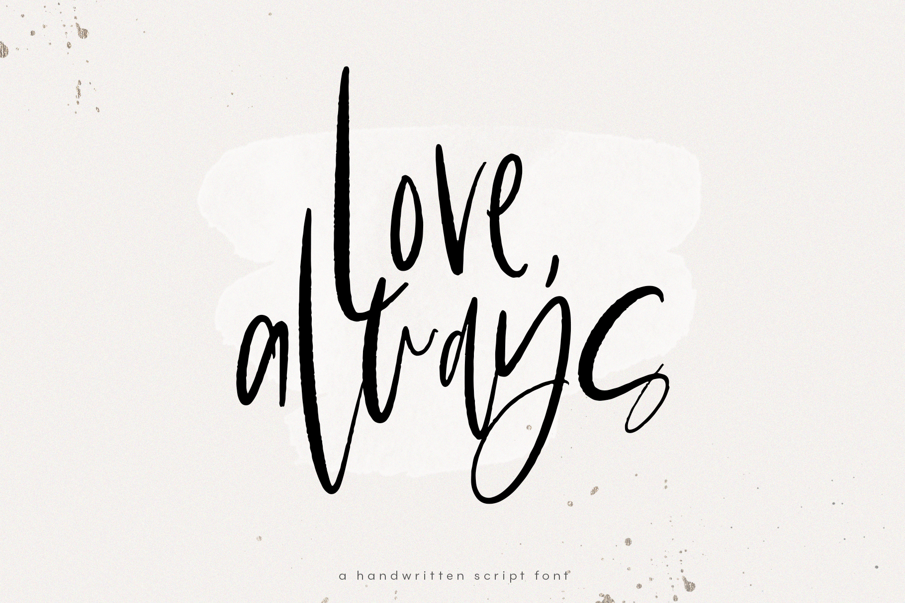 Love Always - A Handwritten Font example image 1